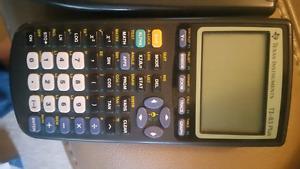 ti83 plus graphing calculator