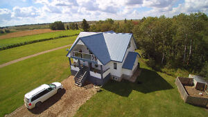Quiet Acreage Living Vegreville/Viking Area