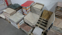 FREE MARBLE & CERAMIC TILES - BANKRUPTCY - CLEANING OUT PREMISES