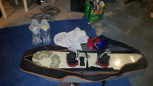 Boots and board