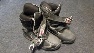 Fox  Comp 5 Shorty Boots Motorcycle Motocross MX