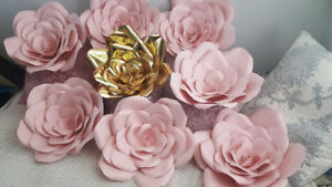 Beautiful  large paper flowers