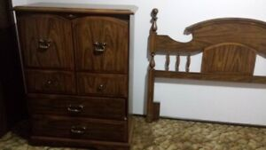 bedroom suite in excellent shape  Stored for years.