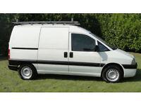 Fiat Scudo DIESEL VAN - TWIN SIDE SLIDING DOORS - LONG MOT - GOOD CLEAN VAN