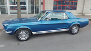 1967 Mustang (original) GTA Coupe