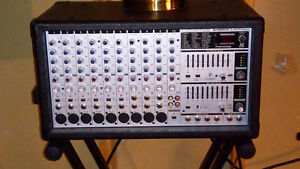 Behringer Euro Power PMH 2000 Powered Mixer with Speakers