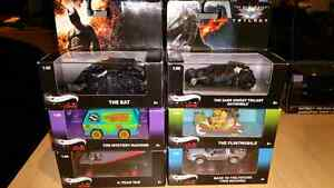 1:50 Hot Wheels Elite One Batman A-Team Flintstones BTTF