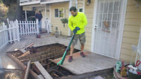 Deck Removal Service