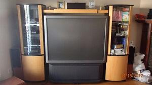 Réduit-Reduced! TV Wall Unit/Meuble audio-vidéo