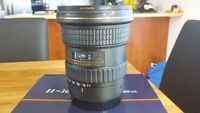 Tokina 11-16mm F2.8 AT-X116 PRO DX II 2 pour canon
