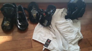 Never Used Sparring Gear - $100