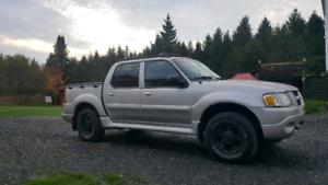 Ford explorer sport track  130000km