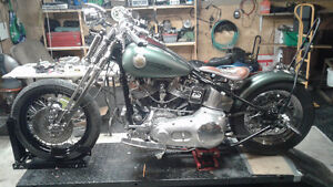 1990 FXST 1HD1 HARDTAILED