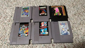 NES cart lot
