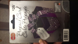 $25 gift card brand new sealed