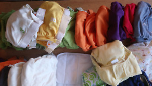 Huge Lot of 42 Cloth Diapers, Many GDiapers DELIVERY AVAILABLE