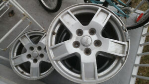 mags 17 pouce jeep cherokee bolt pattern 5*127
