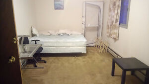 Private locking room with ensuite shower/bathroom/kitchenette