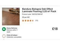 18 packs of bandura Bologna effect laminate flooring