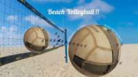 Beach Volleyball for Sports on Tap League