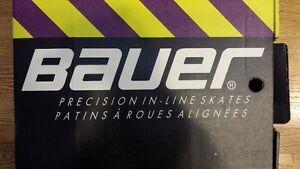 Bauer Precision In-Line Skates Mens Size 9 Like New Sarnia Sarnia Area image 10