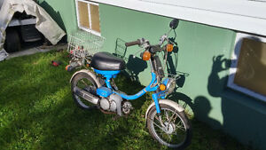 Small Motorbike for Sale - Works Well