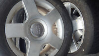 Set Of GoodYear Tires and Rims  #205-60-R16
