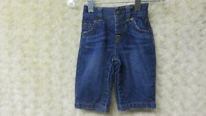 Baby Boy Baby Gap Denim Jeans With Lining Size 3-6 Mths
