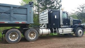 Truck and Dump trailer