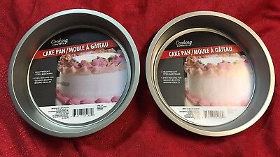 Lot Of 2 Cooking Concepts Round Non Stick Cake Pan 8