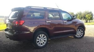 REDUCED$17,900 obo no GST 2009 TOYOTA SEQUOIA PLATINUM-ONE OWNER