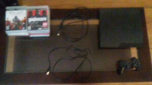 PS3 + Games for sale!