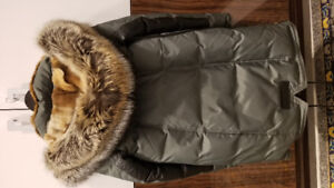 Nicole Benisti Military Fur Lined Gold