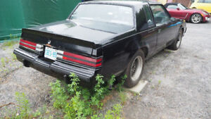 85 T-Top TURBO Grand National (real) Buick rare NEW PRICE