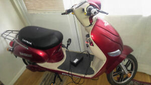 Electric Scooter(Used) For Sale(No License & No Gas Required)