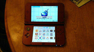 Hacked Nintendo New 3DS XL+ Freeshop + Games+32gb MicroSD