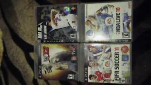22 Ps3 games