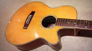 Aria 3/4 Acoustic Electric Guitar - $145
