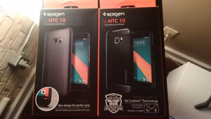 2 BNIB HTC 10 Spigen Cases Kitchener / Waterloo Kitchener Area image 1