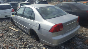 2001 CIVIC JUST IN FOR PARTS AT PIC N SAVE! WELLAND