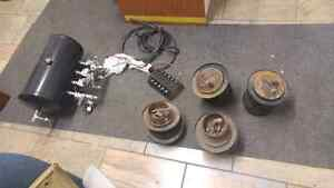 Air ride hopper lowrider tank valves bags switche West Island Greater Montréal image 1