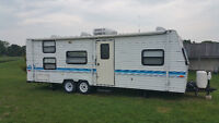 1996 Prowler 27 Bunkhouse Travel Trailer