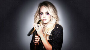 CARRIE UNDERWOOD Saturday May 25th - 4 IN A ROW BELOW COST!