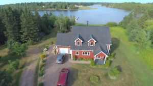 Water Front with an Amazing View!!!!   Must see....in Shediac
