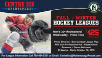Join Our Hockey Leagues!