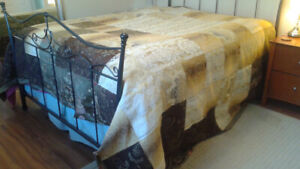 Kingsize Handmade Quilt (one-of-a-kind)