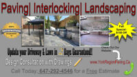 Interlock / Driveway / Landscaping in Just 2 Days!!