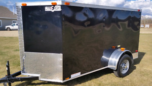 10x5 2017 New V Nose Cargo Trailer  3500 lbs axle 8 12 14 7 6