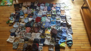 Huge lot of 3-6 month baby clothing