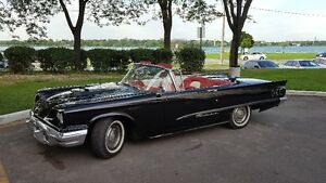 1960 Thunderbird convertible